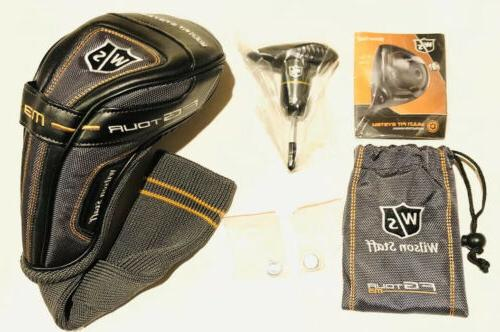 staff fg tour m3 driver headcover wrench