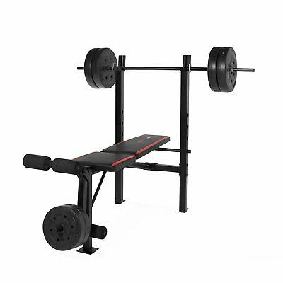 CAP Strength Bench With 100 Lb Weight