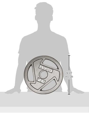 CAP Barbell Free 10-Pounds Olympic Grip Plate Olympic
