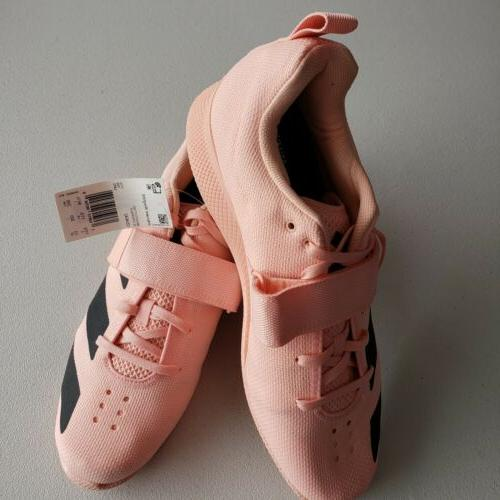 Adidas Womens Adipower Weight Lifting Shoes, Size 13, Pink&