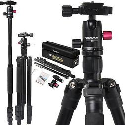 M3 Lightweight Alluminum Camera Tripod Monopod with Metal Ba