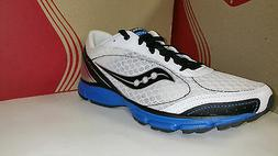 Saucony Men's Grid OutDuel White Black Royal Light Weight Ru