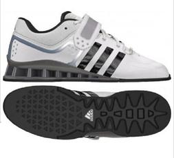 Adidas Mens adiPower Weight Lifting Shoes Exercise White Bla