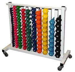 Ader Neoprene Dumbbell Set- 88 Weights  with Free Mobile Rac
