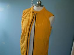 NEW ICEBREAKER Woman Light Weight Gold Vest Quilted Merino B