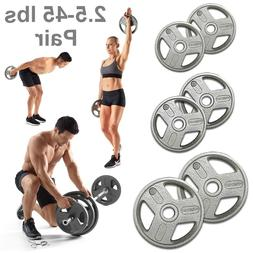 Olympic Grip Weight Plates Fitness Training Weights Home Exe