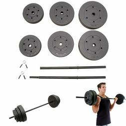 Gold's Gym 50 lb Olympic Plate Set