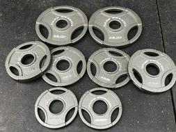 Olympic Weight Plate Set - 45 lb Total - Olympic Grip Plates