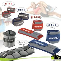 PAIR Adjustable Ankle or Wrist Weights Running Gym Leg Exerc