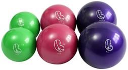 Soft Weighted Ball single or 2 pack, phthalate free, mini me