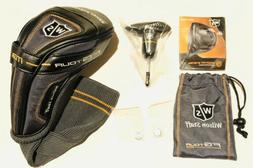 *Wilson Staff FG Tour M3 Driver Headcover Wrench Kit 11g & 3
