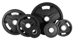 TROY BARBELL VTX OLYMPIC WEIGHT SET WITH DB PLATES COLLARS A