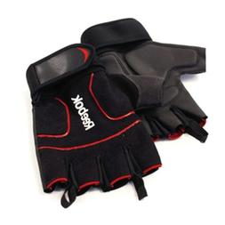 Reebok Weight Lifting Gloves Red Accents