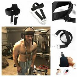 WEIGHT LIFTING HEAD HARNESS NECK STRENGTH PADDED BLASTER GYM