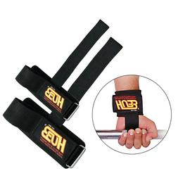 WEIGHT LIFTING STRAPS WRAPS EXERCISE CROSSFIT TRAINING FITNE