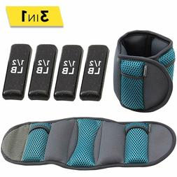 Weight of ankle and wrist soft Adjustable weight Adjustable