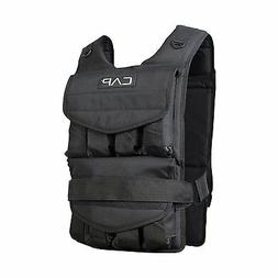 Weighted Vest 80 Lbs CAP Barbell Adjustable Training Exercis
